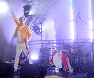 Freddie Mercury Tribute Royaltyfria Foton