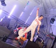 Freddie Mercury Tribute royaltyfri bild