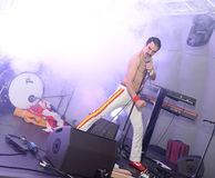 Freddie Mercury Tribute Royaltyfri Foto