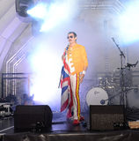 Freddie Mercury Tribute Stock Photo