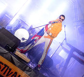 Freddie Mercury Tribute Stock Image