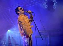 Freddie Mercury Tribute Stock Photos