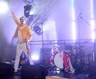 Freddie Mercury Tribute Royalty Free Stock Photos