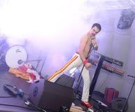 Freddie Mercury Tribute Royalty Free Stock Photo