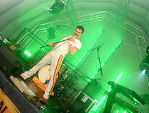Freddie Mercury Tribute Royalty Free Stock Images