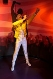 Freddie Mercury Wax Figure Stockbild