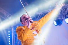 Freddie Mercurytribut Stockfotografie