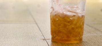 Freddo del tè di ghiaccio Fotografia Stock Libera da Diritti
