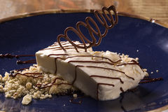 Freddo dessert with torrone Royalty Free Stock Photos