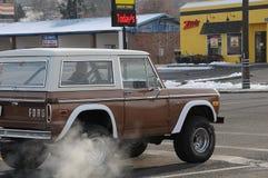 freddo di grado di 12f Fahrenheit sulla notte di Natale in Lewiston, Idaho Immagini Stock Libere da Diritti