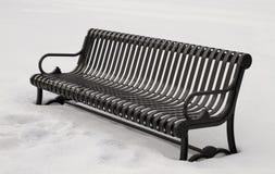 Freddo estremo e neve di inverno degli Stati Uniti Fotografia Stock