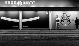 Freddo a Nanchino Fotografie Stock Libere da Diritti