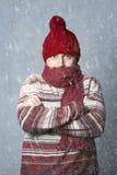 freddo Sguardo casuale Fotografia Stock Libera da Diritti