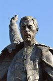Freddy Mercury statue, detail Royalty Free Stock Photo