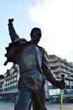 Freddy Mercury statue at Geneva Lake, Switzerland, Europe Royalty Free Stock Image