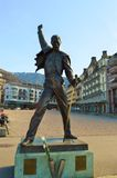 Freddy Mercury statue, Montreux Stock Photography