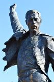 Freddy Mercury statue Royalty Free Stock Photography