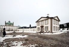 Fredensborg castel Royalty-vrije Stock Fotografie