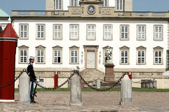 Fredensborg castel, guard Royalty Free Stock Photo