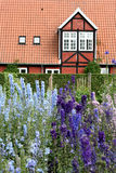 Fredensborg castel , queen garden house Royalty Free Stock Photo