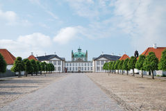 Fredensborg Palace in Denmark. Royalty Free Stock Images