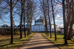 Fredensborg Palast in Dänemark Stockfotografie