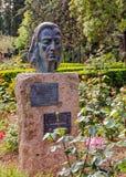 Frederic Chopin Bust, Valldemossa, Majorque photographie stock libre de droits