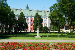 Frederic Chopin monument. Poznan Royalty Free Stock Photo