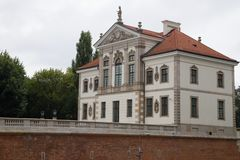 Frederic Chopin museum, Warsaw, Poland stock photo