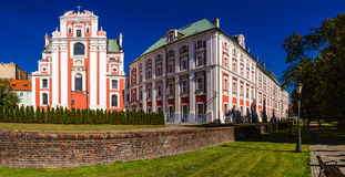 Frederic Chopin Park in Poznan, Poland Stock Photography