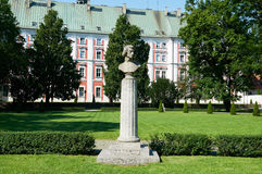 Frederic chopin pomnik poznan Obraz Royalty Free