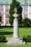Frederic chopin pomnik poznan Obrazy Royalty Free