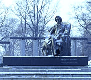 Frederic Chopin statue Stock Photo