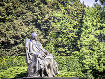 Frederic Chopin statue Royalty Free Stock Photo