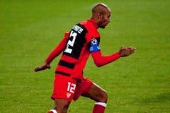 Frederic Kanoute (FC Sevilla) Royalty Free Stock Photo