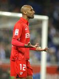 Frederic Kanoute Sevilla FC player Royalty Free Stock Image