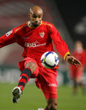 Frederic Kanoute Sevilla FC player Stock Photography