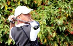 Frederic Schoettel bij het Golf Open DE Parijs 2009 Stock Fotografie