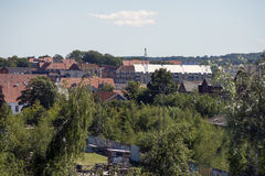Fredericia Skyline Royalty Free Stock Photo