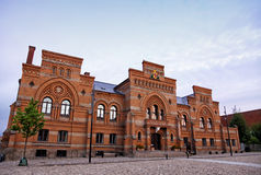 Fredericia Towh Hall (Meldahls Radhus), Denmark Stock Image