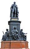 Frederick Augustus II. Statue of Frederick Augustus II in Dresden Germany Stock Images
