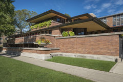 Frederick C Robie House Photographie stock