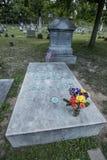 Frederick Douglass ` grób przy Mt Nadzieja cmentarz Zdjęcia Stock