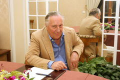 Frederick Forsyth Royalty Free Stock Photography