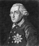 Frederick the Great Stock Image