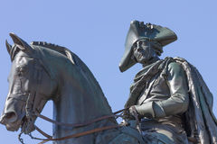 Frederick II (o grandes) Imagem de Stock