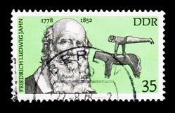 Frederick L Jahn, serie famoso das personalidades, cerca de 1978 Imagens de Stock