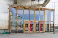 Frederick R Weisman Art Museum à l'université du Minnesota Photos stock
