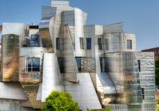 Frederick R Weisman Art Museum all'università di Minnesota fotografia stock libera da diritti