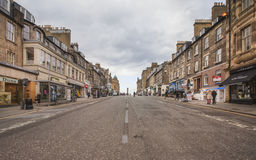 Frederick Street in Edinburgh Royalty Free Stock Image